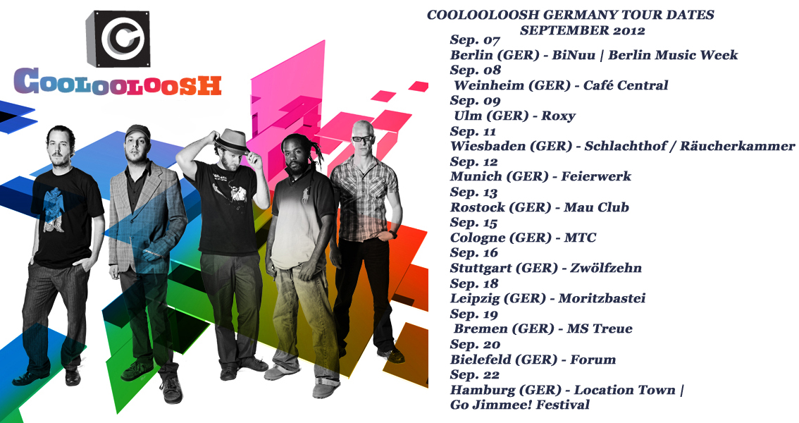 2012 September-coolooloosh-tour-germany-dates