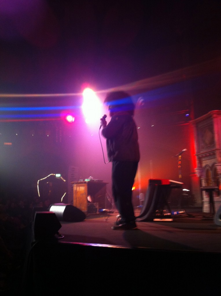 Reggie watts live at Union Chapel London