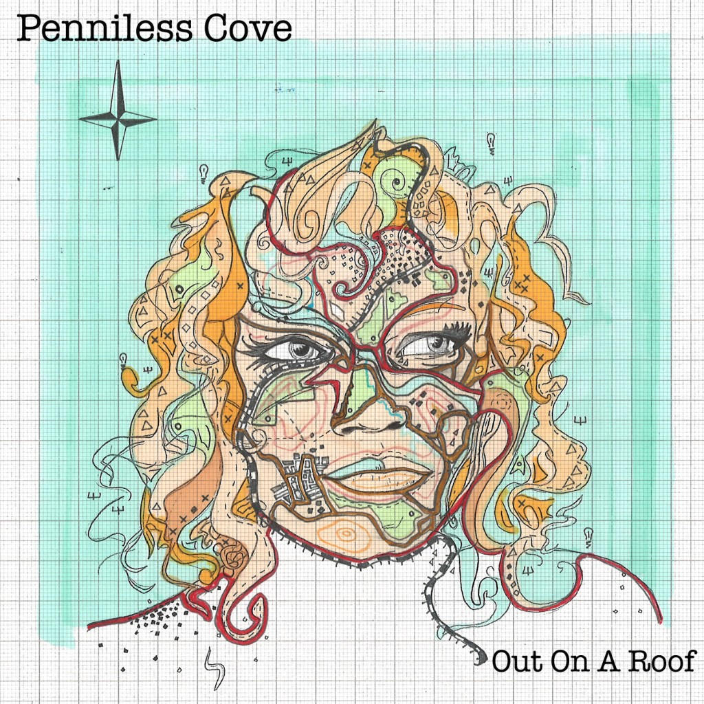 Penniless Cove EP out on a roof cover art